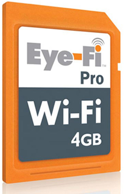 Sign for a Chance to Win and Eye-Fi Pro